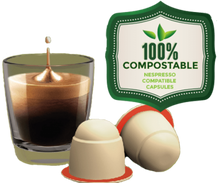 Load image into Gallery viewer, Sticksology Blend With Added Vanilla Flavouring Nespresso Compatible Coffee Compostable Capsules