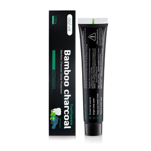 Carbon Activated Coconut Charcoal Powder Bamboo with Toothbrush for Oral Hygiene