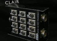 12-Channel disconnectable Stagebox with 3 connectors