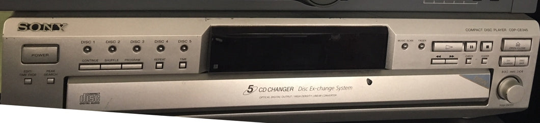 Sony CDP-CE345 - CD changer