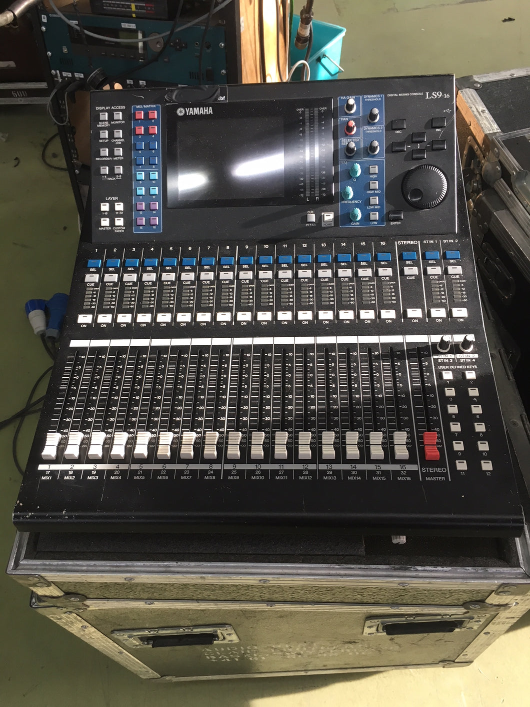 Yamaha LS9 16-ch Digital Mixing Console