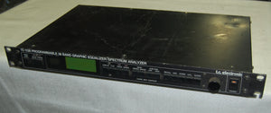 TC Electronic 1128 Graphic Equaliser