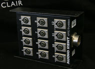 12-Channel disconnectable Stagebox with 1 connector