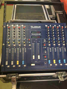 Soundcraft d-mix 1000 8 channel Discomixer