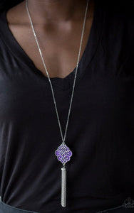 Paparazzi Malibu Mandala - Purple Necklace