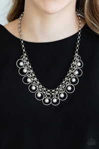 Paparazzi Party Time - Silver Necklace