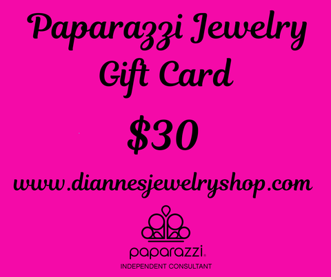 $30 Gift Card for diannesjewelryshop.com