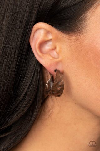 Paparazzi Put Your Best Face Forward Copper Earrings