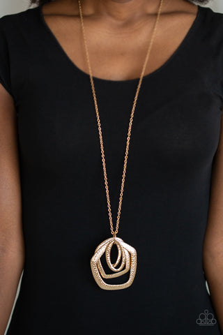 Paparazzi Urban Artisan - Gold Necklace