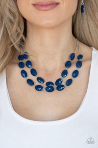 Paparazzi Max Volume - Blue Necklace