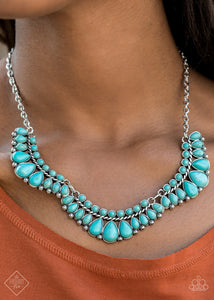 Paparazzi Naturally Native Blue Necklace