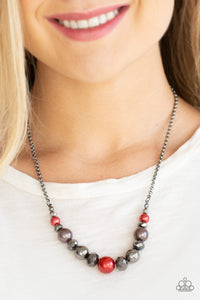 Paparazzi The Big Leaguer Multi Necklace