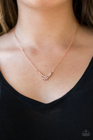 Paparazzi Classically Classic Copper Necklace