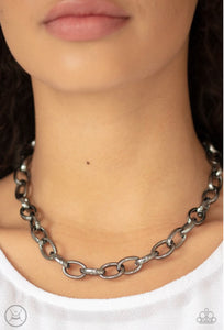 Paparazzi Urban Uplink - Black Necklace