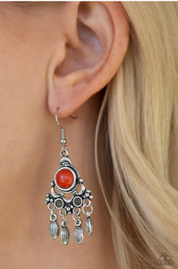 Paparazzi No Place Like HOMESTEAD - Multi Earrings