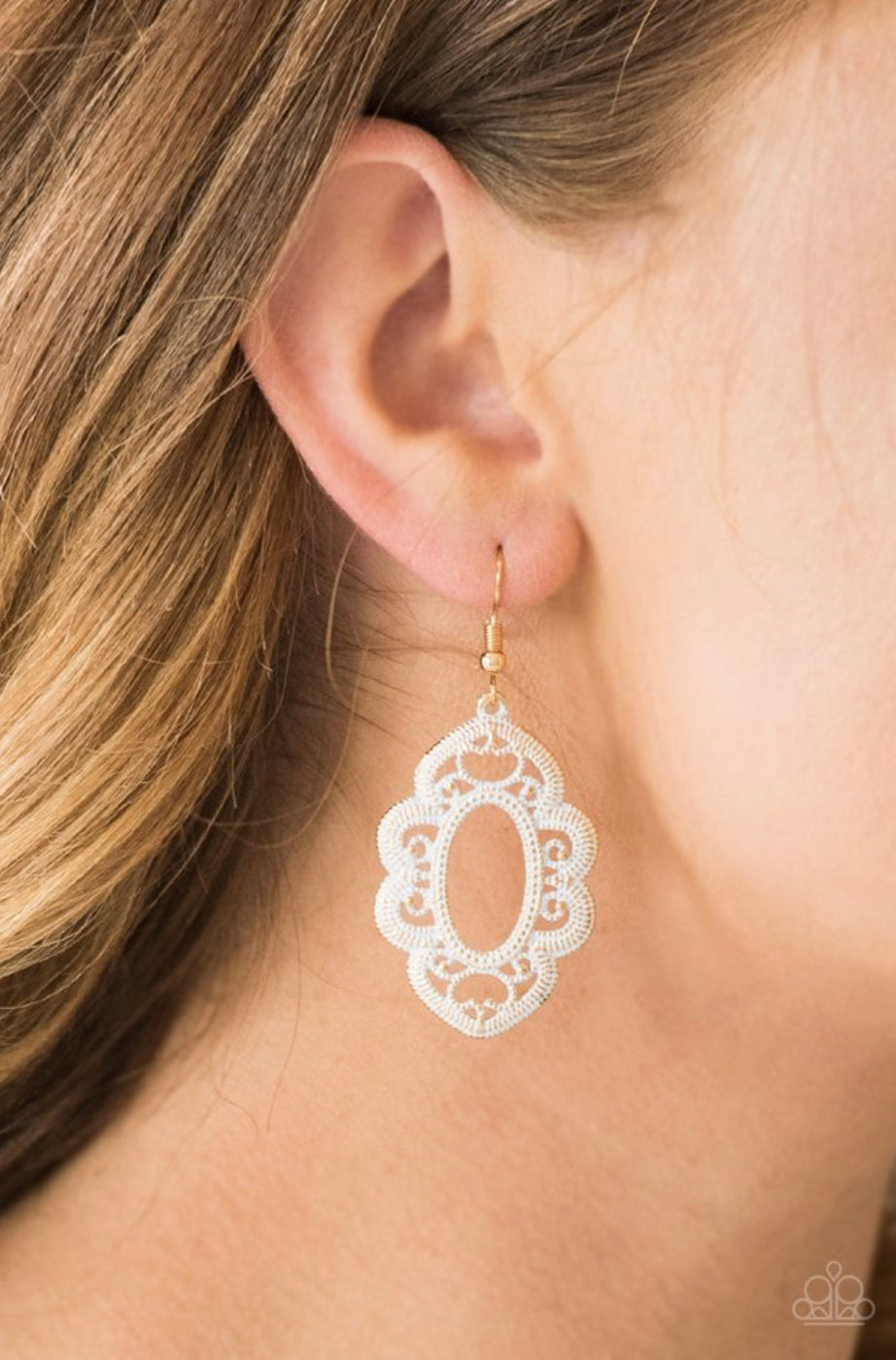 Paparazzi Mantras and Mandalas - Gold Earrings