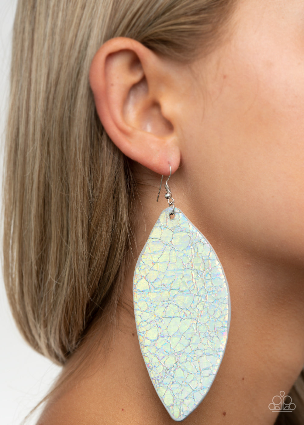Paparazzi Eden Radiance Multi Leather Earrings