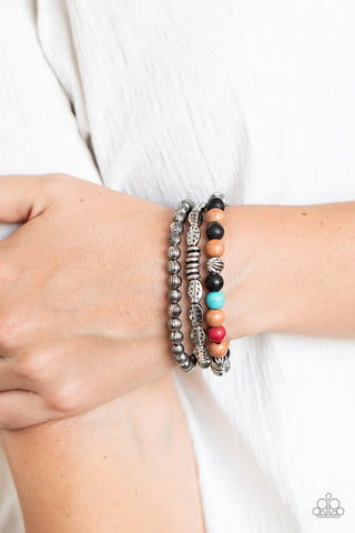 Paparazzi Trail Mix Mecca Multi Bracelet