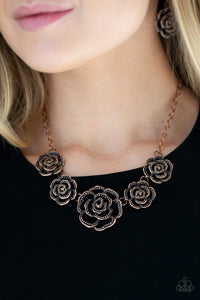 Paparazzi Primrose Princess - Copper Necklace