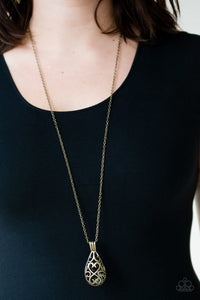 Paparazzi Magic Potions - Brass Necklace