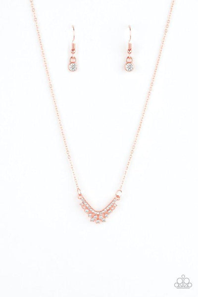 Paparazzi Classically Classic Shiny Copper Necklace