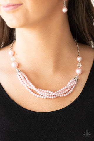 One Woman  Show - Pink Necklace