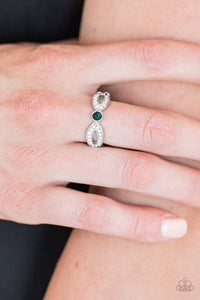 Paparazzi Extra Side Of Elegance - Green Ring