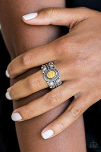 Paparazzi Butterfly Belle - Yellow Ring