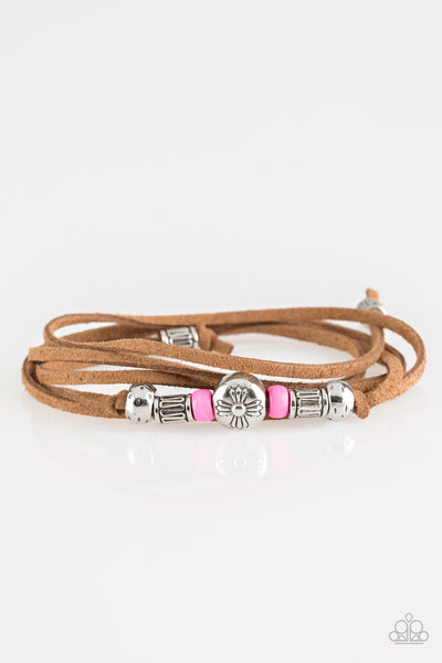 Paparazzi Find Your Way - Pink Bracelet