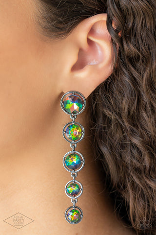 Paparazzi Drippin In Starlight Multi Earrings