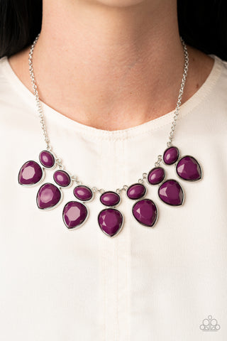 Paparazzi Modern Masquerade - Purple Necklace