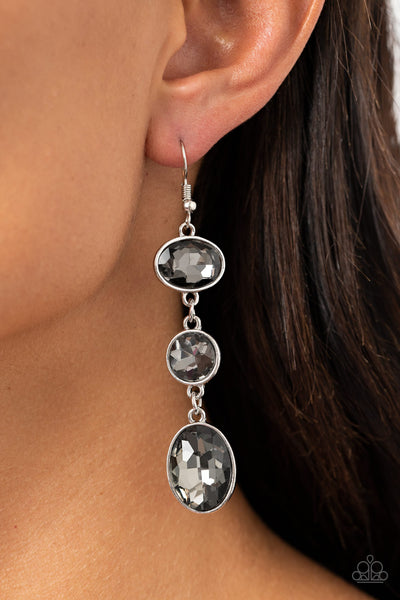 Paparazzi The GLOW Must Go On! Silver Earrings