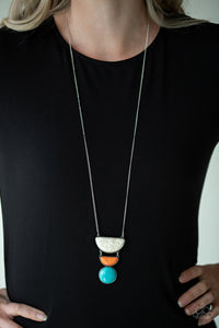 Paparazzi Desert Mason Multi Necklace