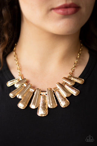 COMING SOON - Paparazzi MANE Up - Gold Necklace
