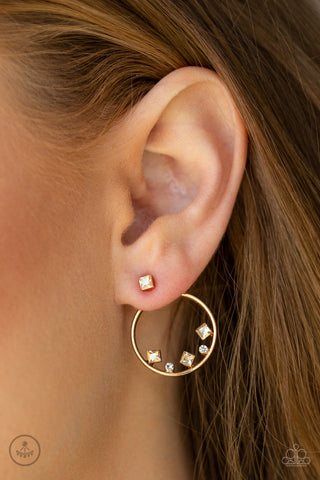 Paparazzi Top-Notch Twinkle - Gold Earrings