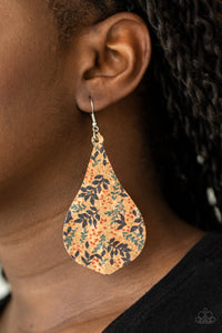Paparazzi Cork Coast Multi Earrings