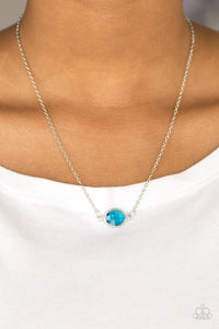 Fashionably Fantabulous Blue Necklace