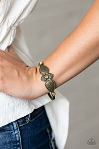 Paparazzi Flourishing Fashion - Brass Bracelet