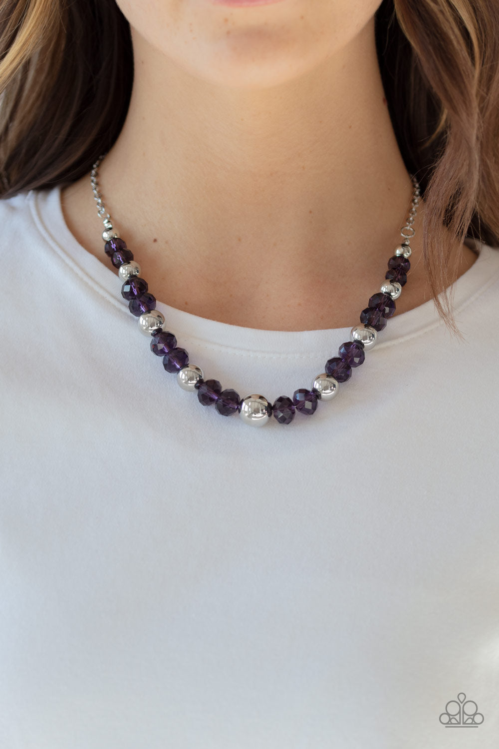 Paparazzi Jewel Jam - Purple Necklace