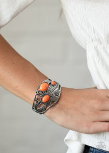 Paparazzi Mojave Moods Orange Bracelet