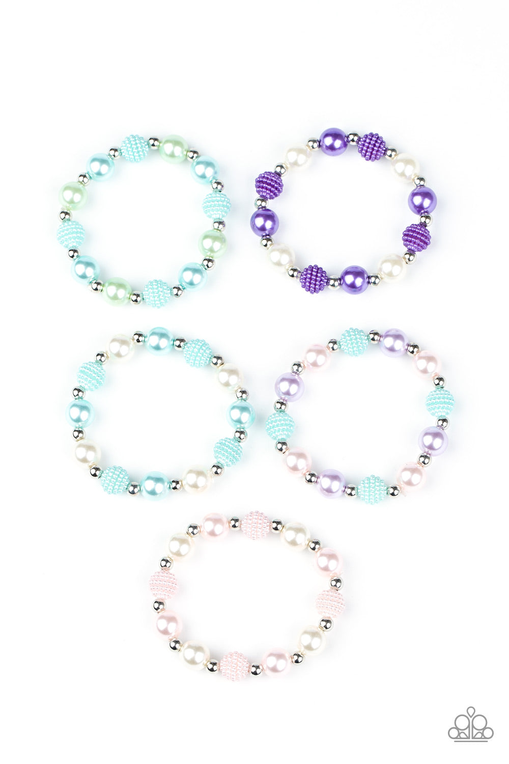 Paparazzi Starlet Shimmer $5 Set of Multi Bracelets