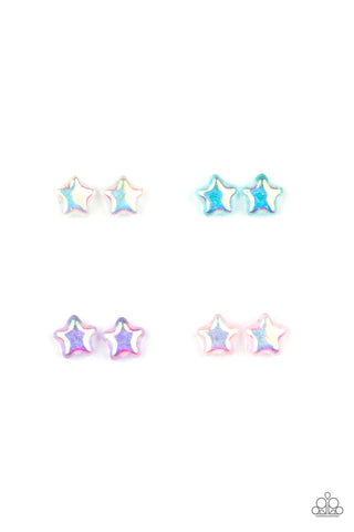 Paparazzi $5 Set of Starlet Shimmer Star Earrings