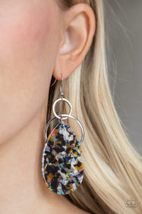 Paparazzi Two Tickets To Paradise - Multi Earrings
