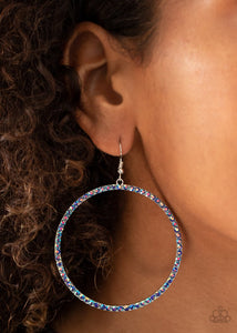 Paparazzi Wide Curves Ahead Multi Earrings