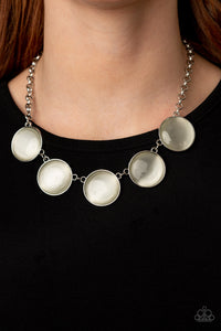 Paparazzi Ethereal Escape White Necklace
