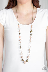 Paparazzi Secret Treasure - Brown Necklace