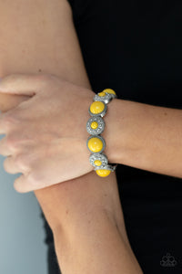 Paparazzi Garden Flair Yellow Bracelet
