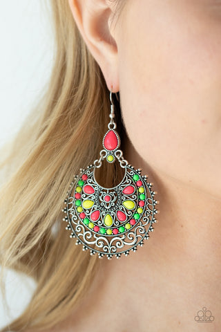 Paparazzi Laguna Leisure - Multi Earrings