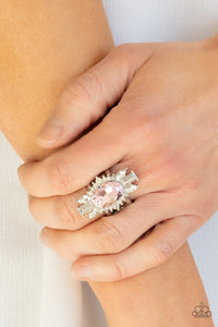 Paparazzi Icy Icon - Pink Ring