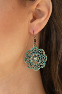 COMING SOON - Paparazzi Western Mandalas - Brass Earrings